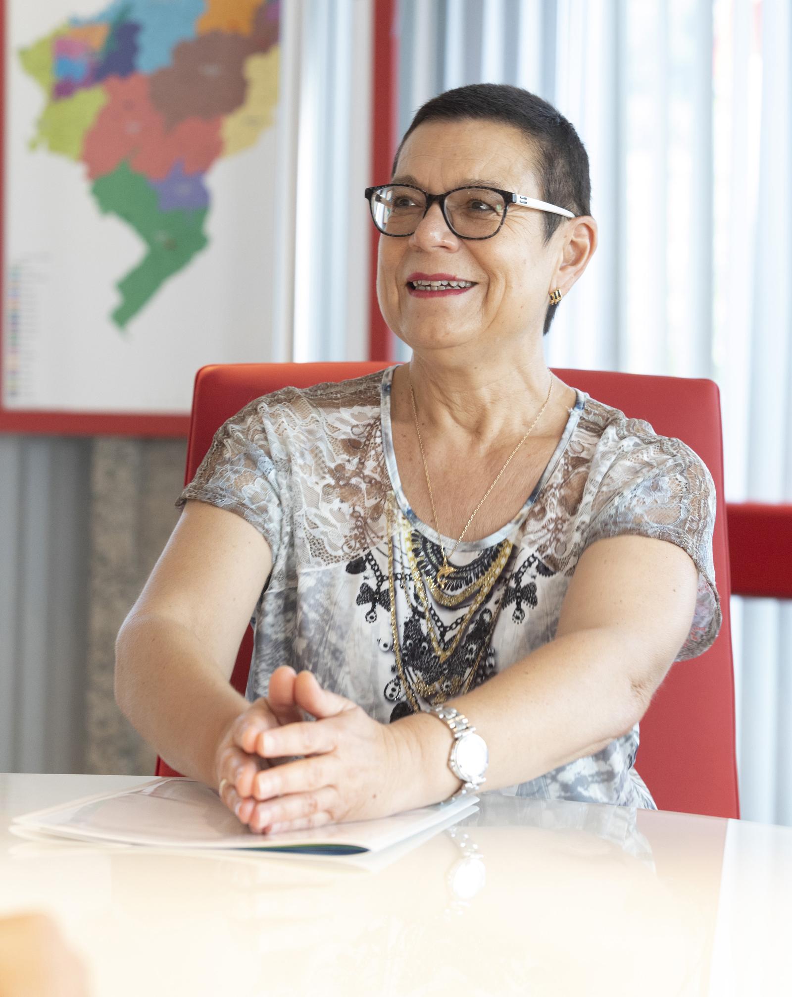 Christine Bouquin, présidente du Département du Doubs